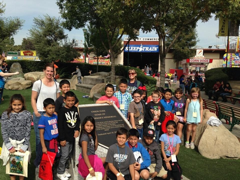 At The Fresno Fair With Third Grade Cl Roosevelt Elementary Selma 10