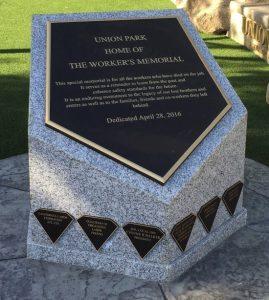 Workers' Memorial.